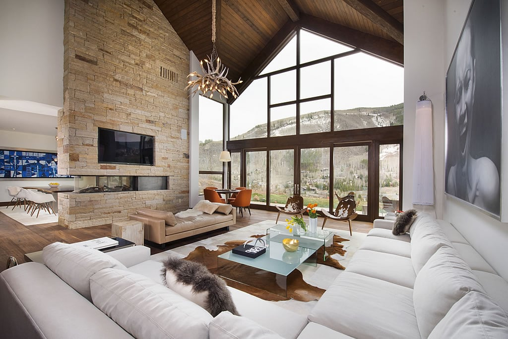 , contemporary elegance nestled in vail